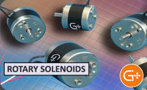 Bistable rotary solenoids by Geeplus