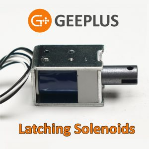 Latching Solenoids by Geeplus
