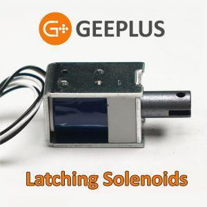 Latching Solenoids by Geeplus