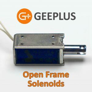 Open Frame Solenoids Geeplus