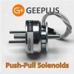 Push Pull solenoids by Geeplus