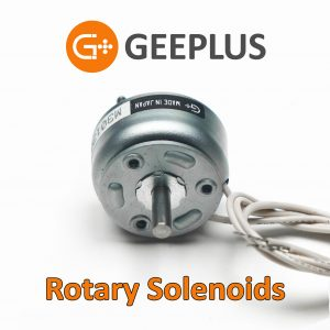 Rotary solenoids by Geeplus