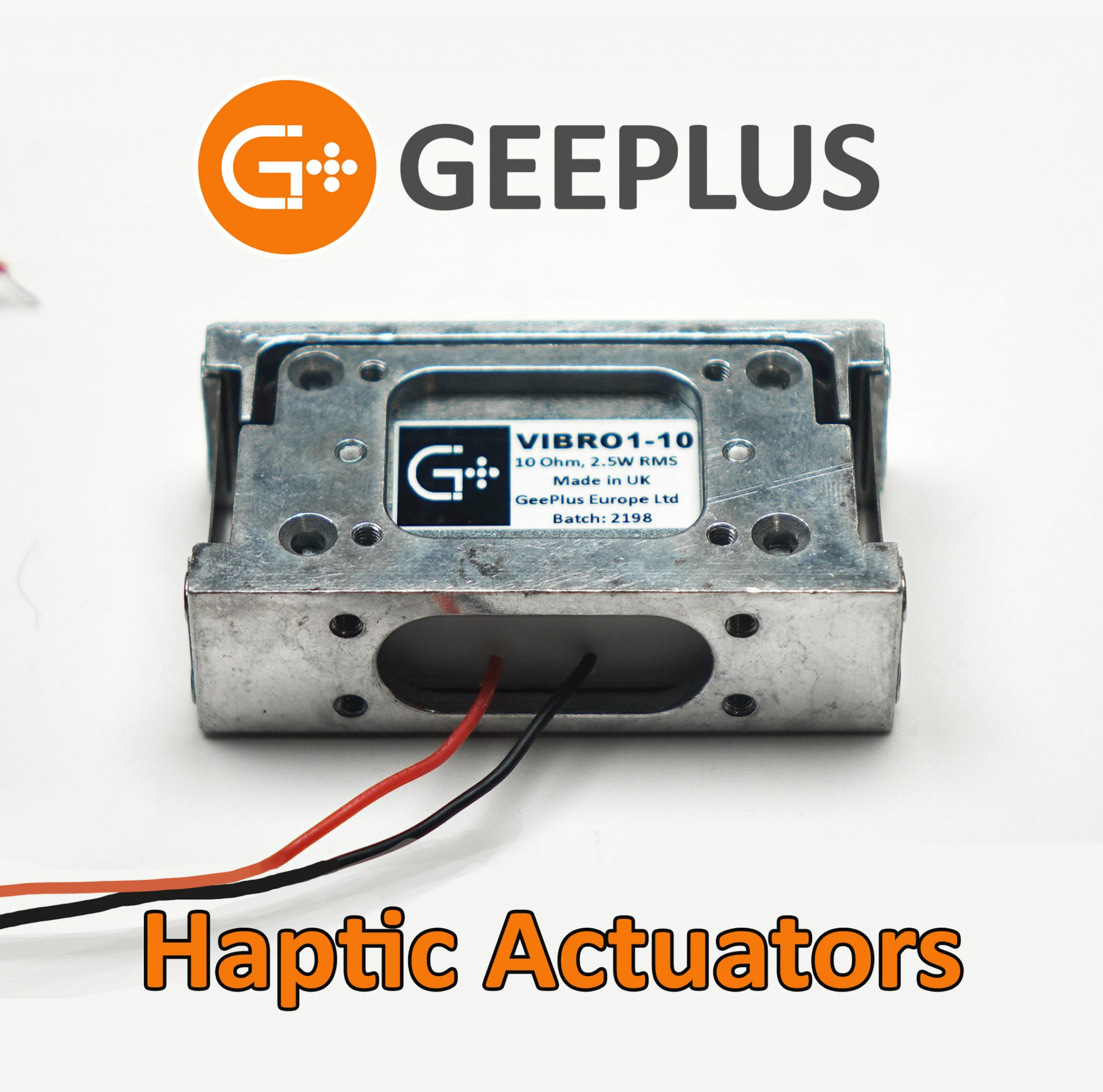 Vibrating Haptic Actuators by Geeplus