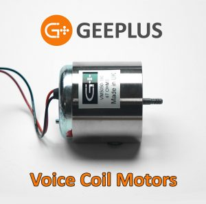 Voice coil motors from Geeplus