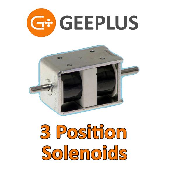 Geeplus 3 Position Solenoids