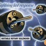 Bistable rotary solenoid fast response time