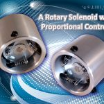 Rotary solenoid semi proportional