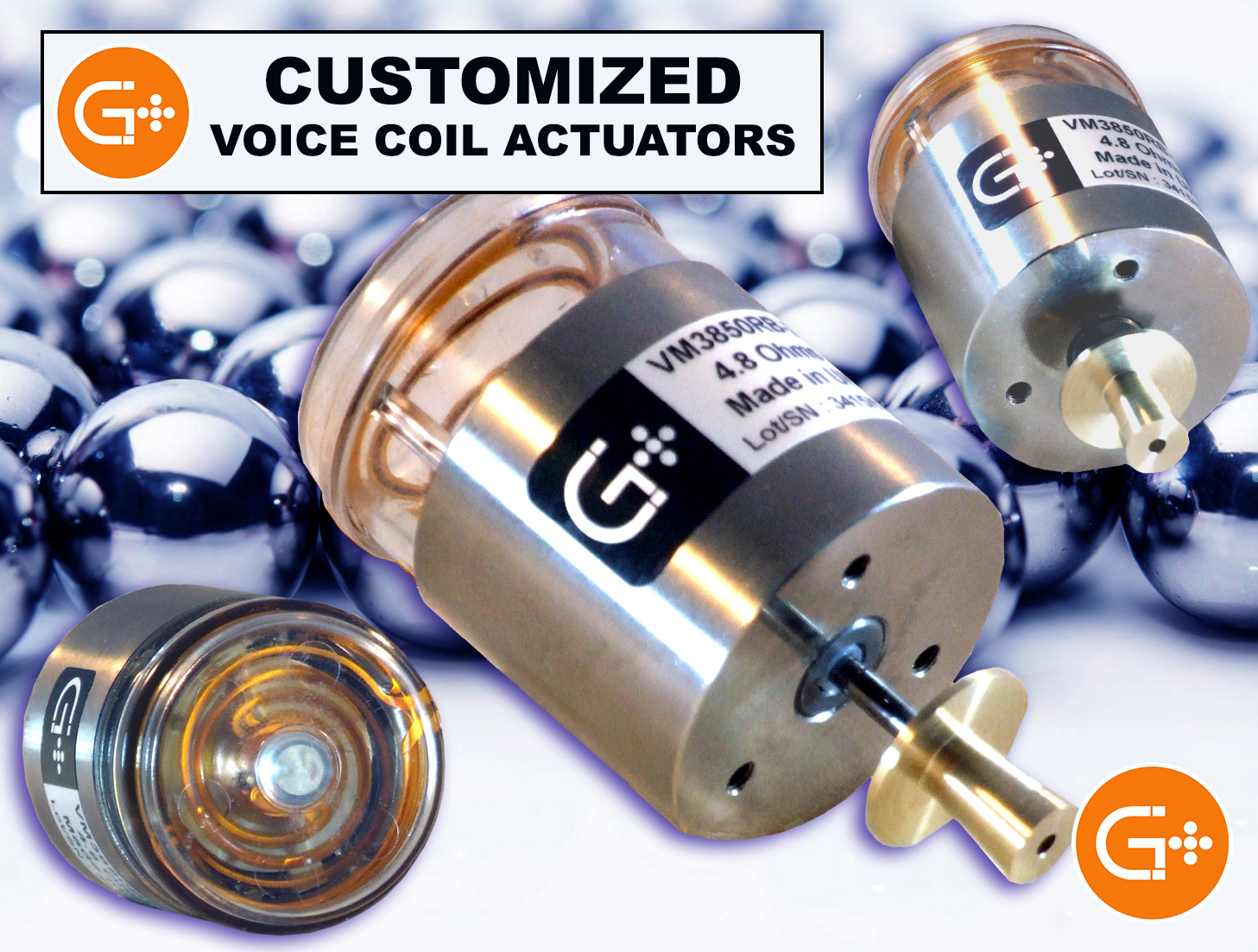 Customized Voice Coil Actuators by Geeplus