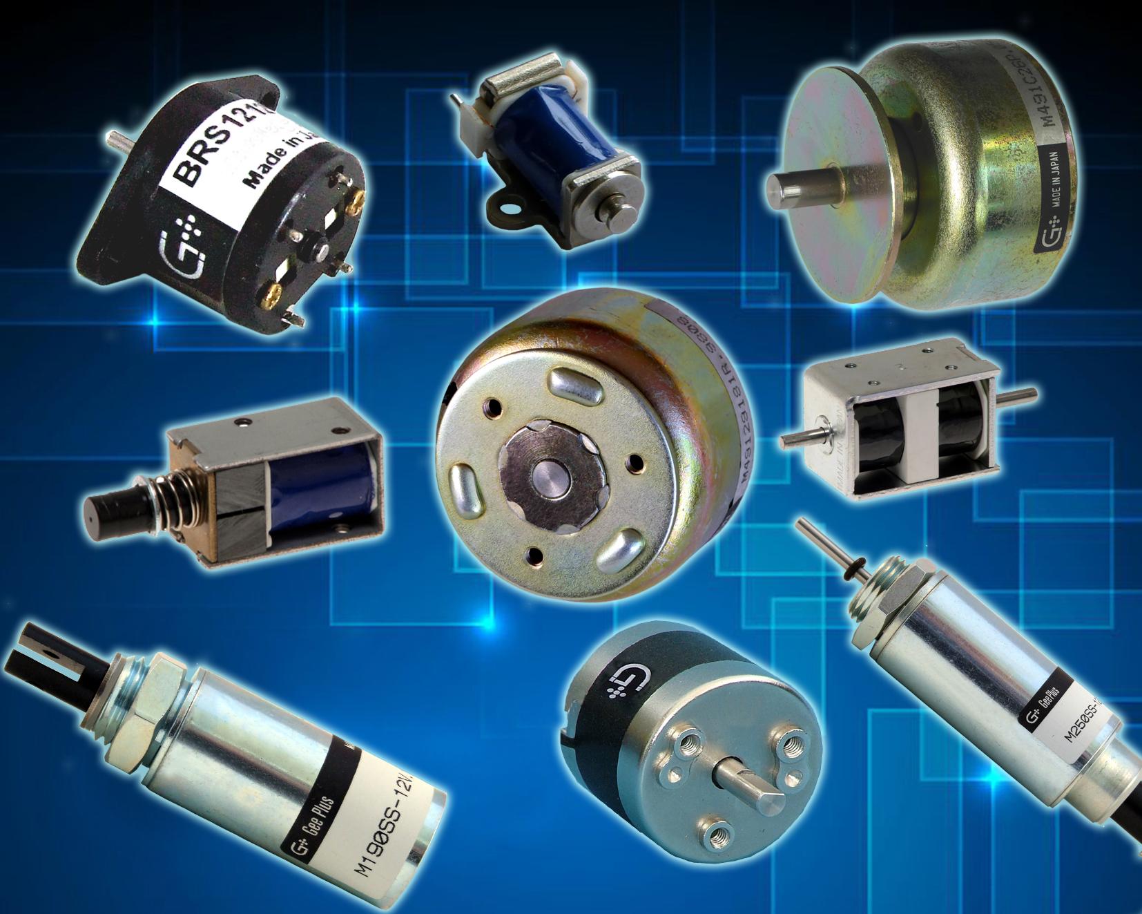 Various Geeplus Actuators
