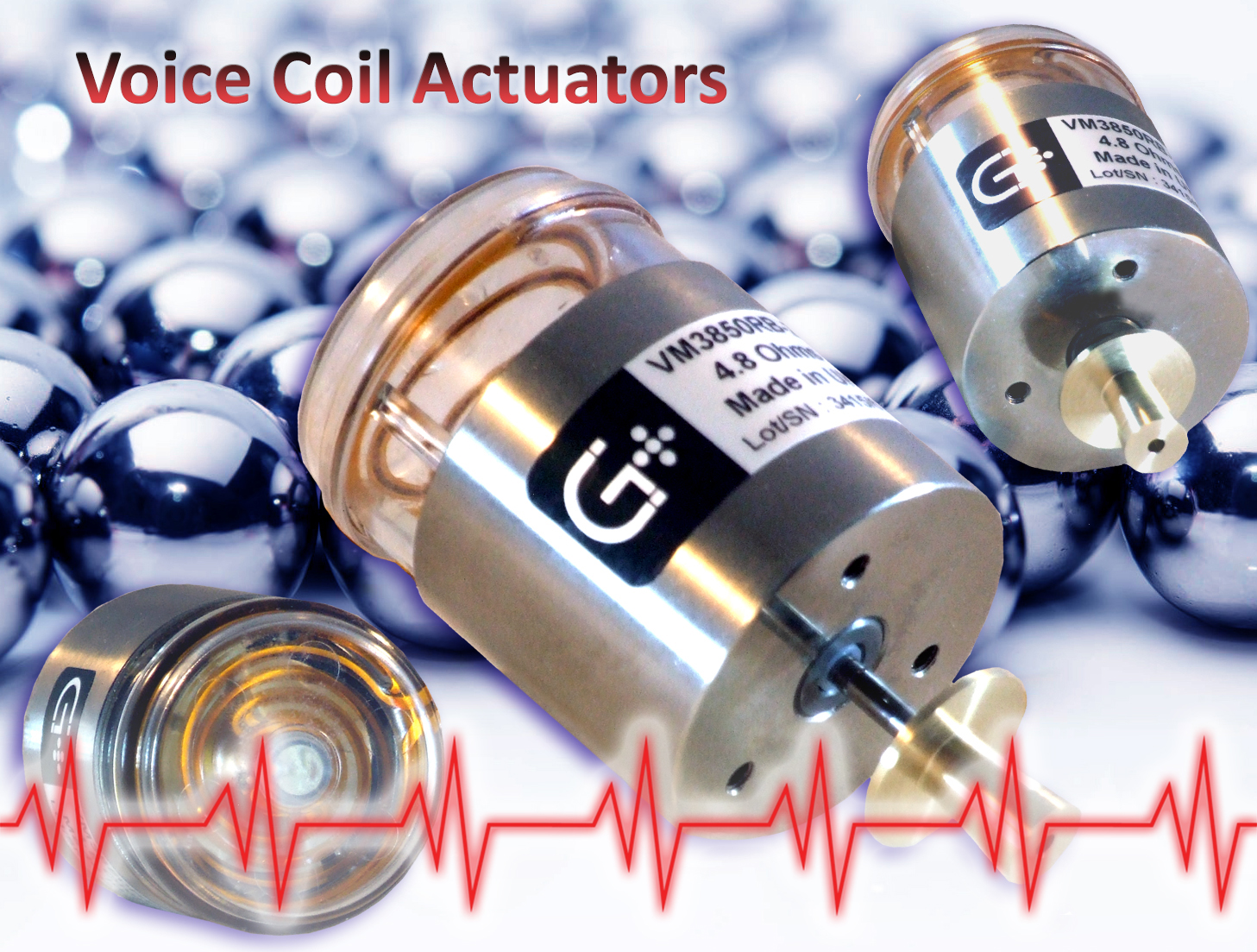 Geeplus voice coil actuators in Medical