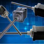 Stepper Motors with lead screws from Geeplus
