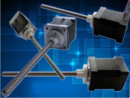 Stepper Motors with lead screws from Geeplus