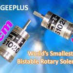 World's smallest bistable rotary solenoid from Geeplus