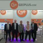 Geeplus team members at compamed