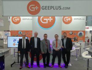 Geeplus team members at compamed