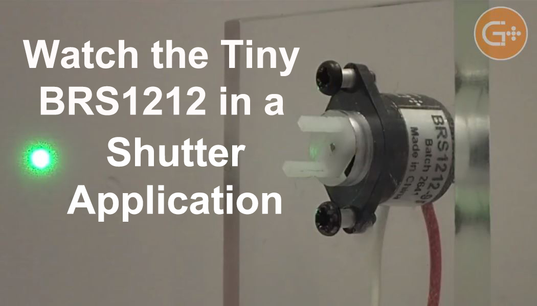 Bistable rotary solenoid by Geeplus in shutter application, video link