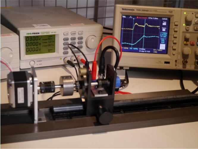 Bistable Rotary Solenoid measurement equipment at Geeplus