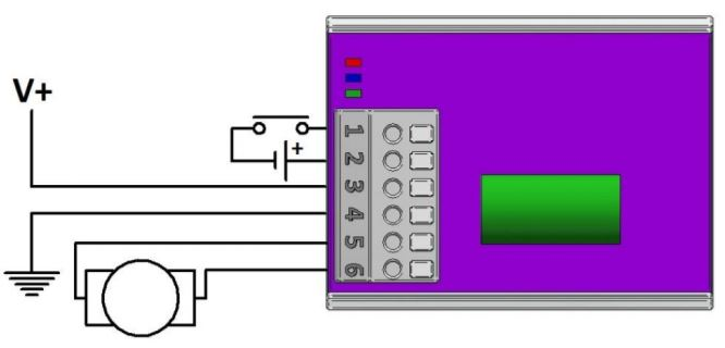 Pick and Hold circuit diagram