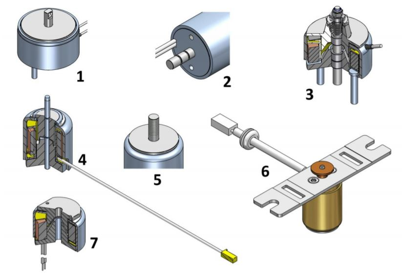 Geeplus Push Pull solenoid customization options