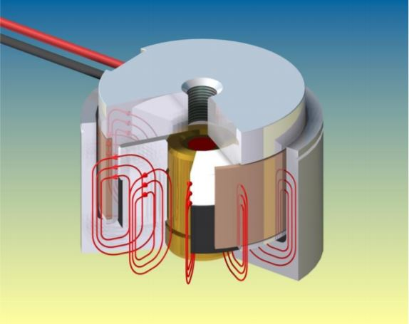 Voice Coil Motor coil diagram