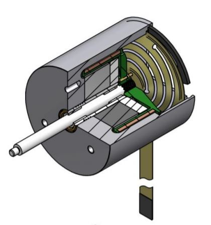 Voice Coil Motor interior diagram
